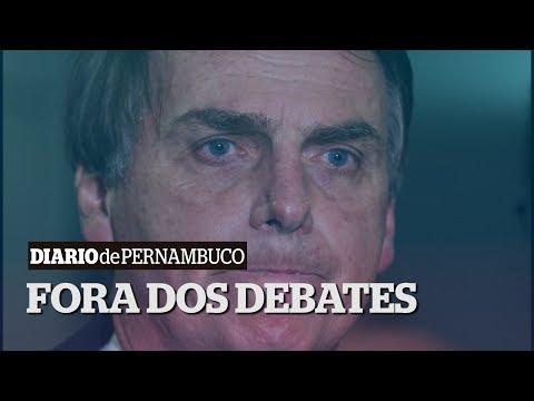 Bolsonaro afirma que não participará dos próximos debate entre presidenciáveis