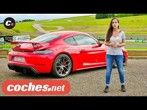 Porsche 718 Cayman GT4 y Spyder GT4 2019 | Primera prueba / Test / Review en español | coches.net