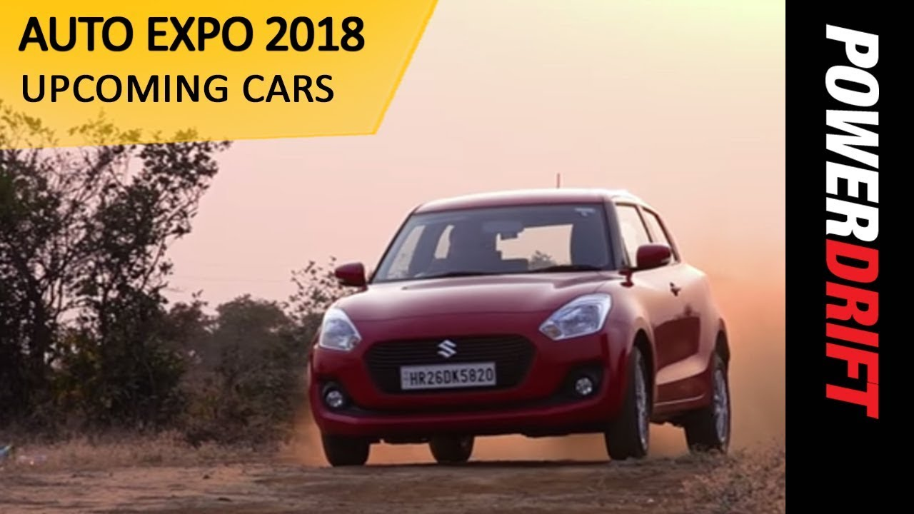 Upcoming Cars at AutoExpo 2018 : PowerDrift