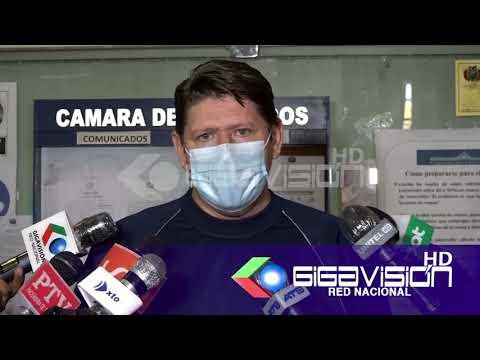 DIPUTADO GUTIERREZ PIDE RENUNCIA DE MINISTRO DE GOBIERNO l diputado