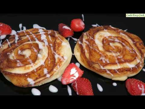 Ароматный Завтрак ОЛАДЬИ (БЛИНЫ) С КОРИЦЕЙ синнабоны | Pancake Cinnamon Recipe