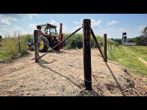 Saving Fencelines - Replacing Posts
