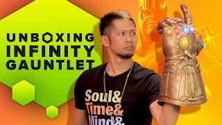 Unboxing the Hasbro Marvel Legends Infinity Gauntlet