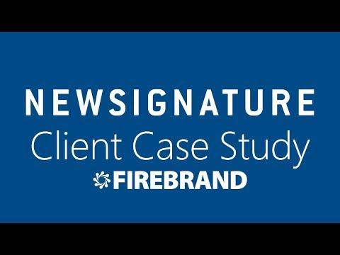 New Signature: Firebrand Managed Service