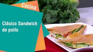 Receta de Secretos de Cocina de Unilever: Clásico Sandwich de pollo