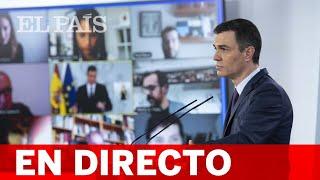 DIRECTO #CORONAVIRUS | PEDRO SÁNCHEZ comparece ante los medios