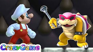 New Super Mario Bros Wii 100% Walkthrough #2 (All Collectibles, Secret Exit, 4K 60fps)