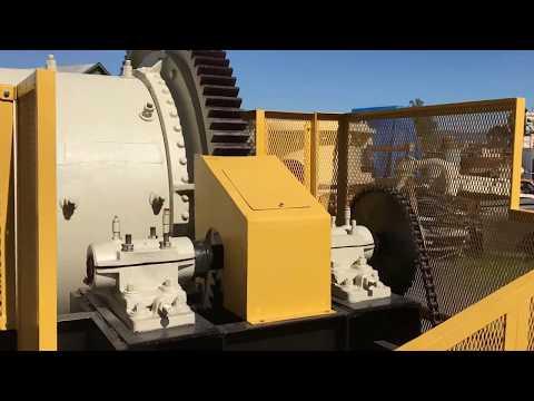 6K-RA02 Refurbished COLORADO IRON WORKS 4' x 5' Skidded Ball Mill