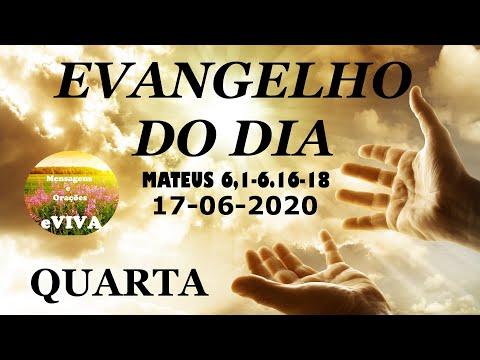 EVANGELHO DO DIA 17/06/2020 Narrado e Comentado - LITURGIA DIÁRIA - HOMILIA DIARIA HOJE