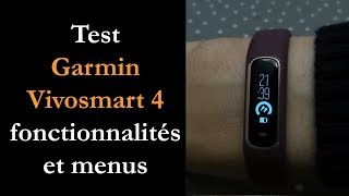 Vidéo-Test : Test Garmin Vivosmart 4