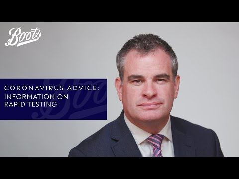 boots.com & Boots Discount Code video: Coronavirus advice | What is rapid testing? | Boots UK