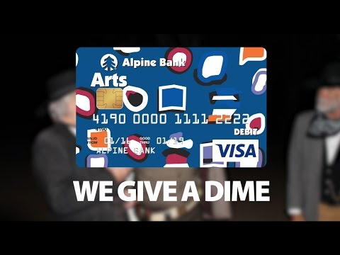 Alpine Bank Gives A Dime about The Glenwood Springs Historical Society