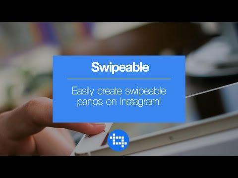Easily create swipeable panos on Instagram