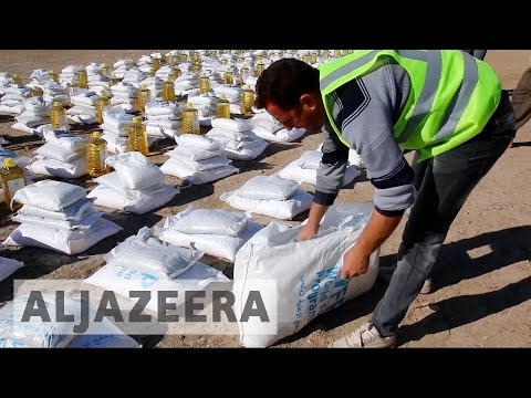 Iraq's displaced running out of aid
