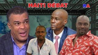 Haiti Débat-Ansyen senatè Steven Benoit andirèk ap reponn kesyon Gary Pierre Paul Charles