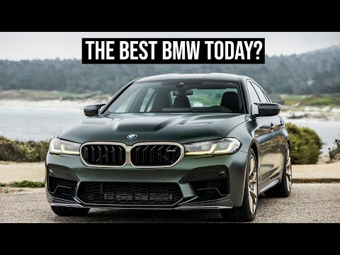 2021 BMW M5 CS  |  The Most Important Features