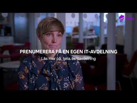 Telia | Scandinavian Biopharmas IT-avdelning