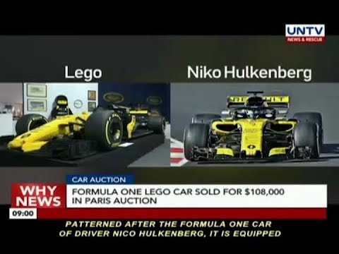 Formula One Lego Car sold for 95,300 Euros in Paris auction