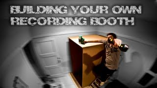 Awe Inspiring Build A Diy Recording Booth For Your Home Studio Youtube Largest Home Design Picture Inspirations Pitcheantrous