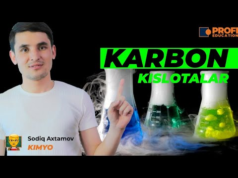 Organik kimyo: Karbon kislotalar
