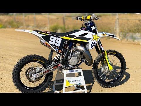 Factory Husqvarna 112cc Super Mini 2 Stroke - Motocross Action Magazine