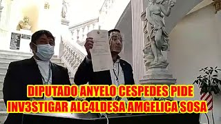 ALCALDESA SOSA DE SANTA CRUZ D3BE R3SPONDER POR PROYECTO SISTEMA DE BUSES QUE H4STA HOY NO FUNCIONA