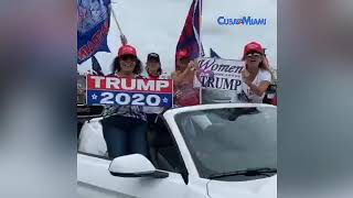 Video Completo: Caravana pro-Trump en Miami