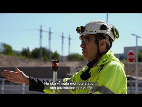 En dag med mätingenjör Krister - A day with surveying engineer krister