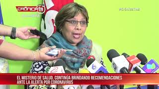 MINSA brinda reporte actualizado con respecto al coronavirus – Nicaragua