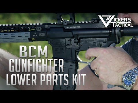 BCM GUNFIGHTER ENHANCED LOWER PARTS KIT