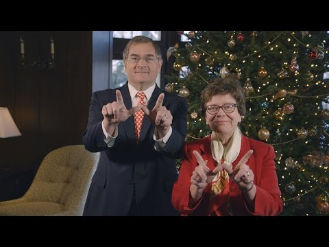 UW-Madison Chancellor Blank's Holiday Card - 2016