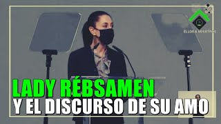 Claudia Rébsamen en la clausura del Centro Covid19 del Citibanamex
