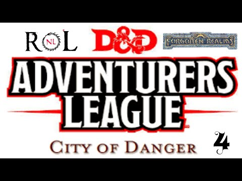 """Dungeons & Dragons 5E - """"City of Danger"""" Ep4"""