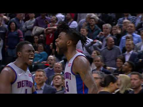 Reggie Bullock's Buzzer Beater Wins It For The Pistons! | November 14, 2018