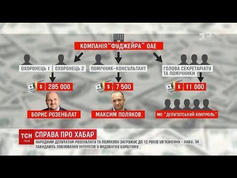 Нардепам Розенблату та Полякову загрожує до 12 років в'язниці