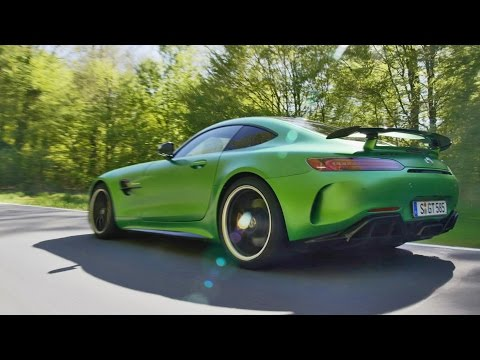 2017 Mercedes-AMG GT R - Driving (Good Exhaust Sound)