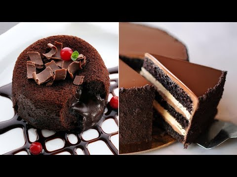 40+ Easy and Yummy Chocolate Cakes, Desserts and Decoration Hacks in 10 Minutes | Yummy Chocolate