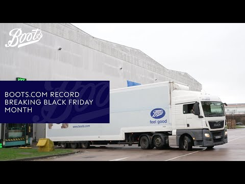 boots.com & Boots Promo Code video: Boots.com record breaking Black Friday month | Boots UK