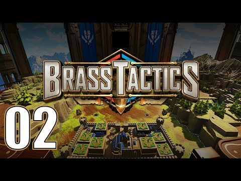 Brass Tactics - Let's Play Part 2: Sypanthus Lowlands