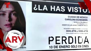 Cartel de promoción de película 'Perdida' causa polémica en México   Al Rojo Vivo   Telemundo