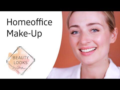Make-Up für Homeoffice & Videocall mit Olesja
