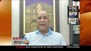 Entrevista al dirigente de la Fuerza del Pueblo, Bautista Rojas Gómez en Enfoque Matinal