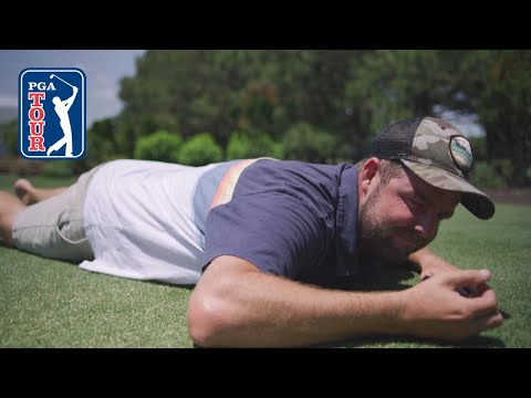 Marc Leishman?s backyard putting green obsession