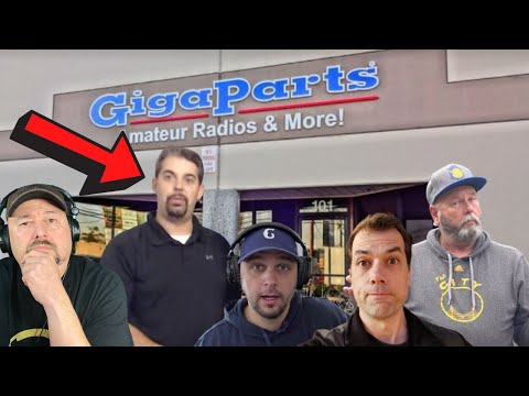 Steve from GigaParts - Coffee and Ham Radio