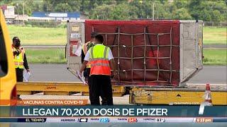 Panamá recibe decimocuarto lote de la vacuna de Pfizer