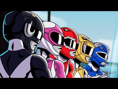 15 Minutes of Power Rangers Mega Battle Gameplay - PSX 2016