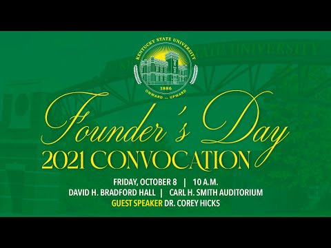 Founder's Day 2021 Convocation