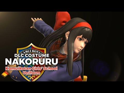 KOFXIV: Kamuikotan Girls' School Uniform Nakoruru DLC Trailer