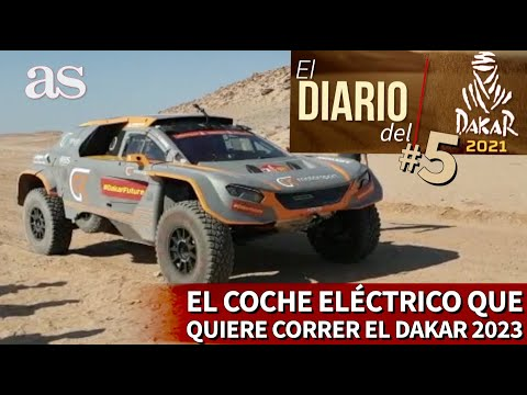 El Diario del DAKAR 2021 #5 | El espectacular coche eléctrico que quiere correr el Dakar 2023 | AS