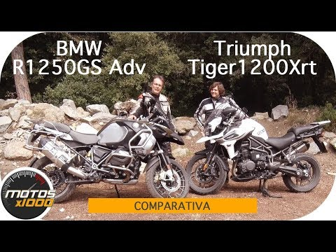 Triumph Tiger 1200 Xrt Vs. BMW R1250GS Adventure | Comparativa